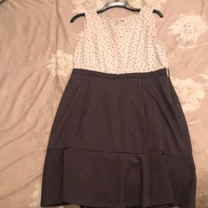 Cute polka dot dress Elle size 12